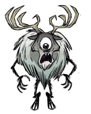The Deerclops in Don't Starve
