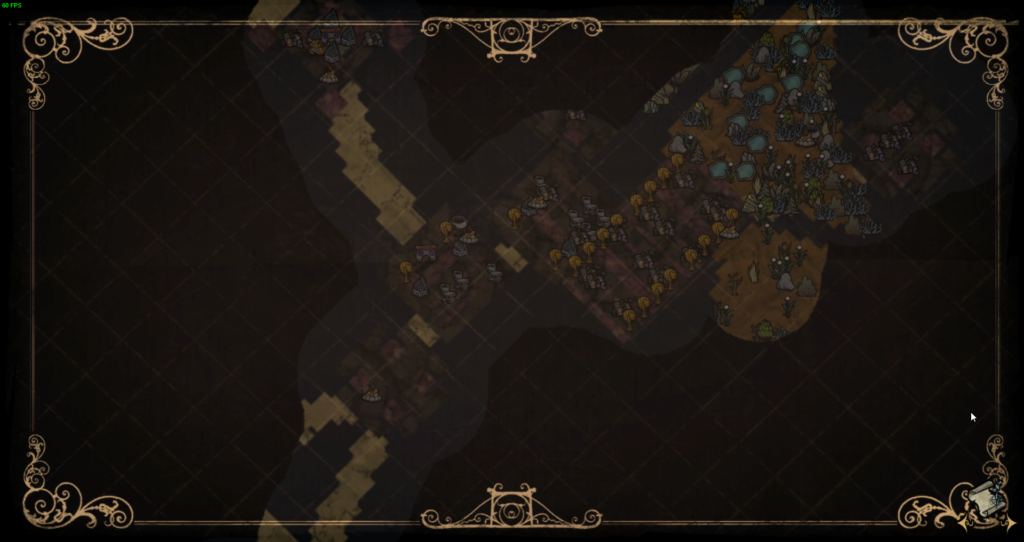Don't Starve Together Ruins on the map